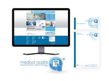 Medical Audits branding, Print Design, Brand, Web Design and e-Marketing