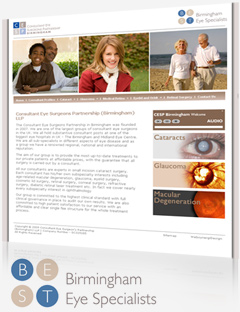 Birmingham Eye Specialists (BEST) Website and Content Management System