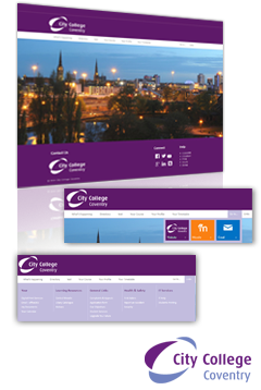 City Coventry College SharePoint Design