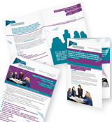 Edge Partnership leaflet design
