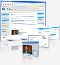 Oxford Coach-Mentoring Channel Audio / Video Streaming eCommerce website